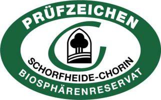 Logo Prüfzeichen Schorfheide-Chorin